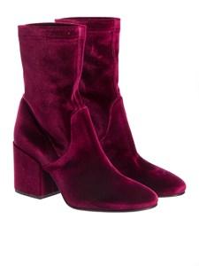 Strategia - Velvet ankle boots