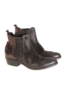 ELENA IACHI - Leather ankle boots