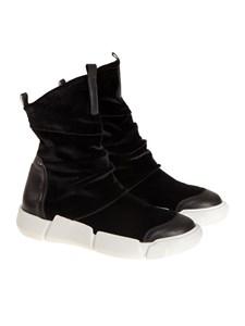 ELENA IACHI - Velvet sneakers