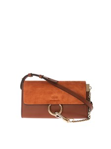Chloé - Faye wallet with shoulder strap