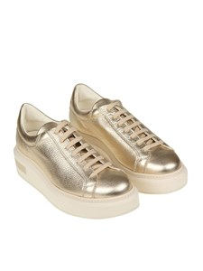Manuel Barcelò - Hammered leather sneakers