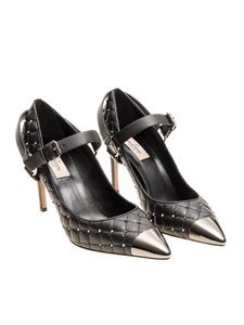 Valentino - Quilted leather pumps