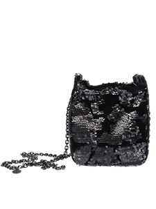 KENDALL + KYLIE - Fabric and sequins bag