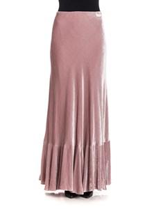 Alberta Ferretti - Velvet skirt