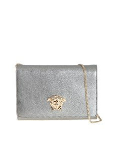 Versace - Hammered leather bag