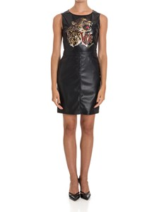 Love Moschino - Eco-leather stretch dress