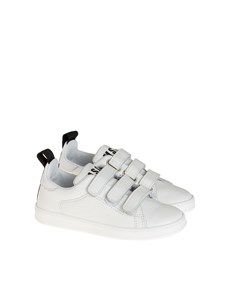 MSGM - Leather sneakers