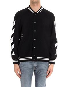 Off-White - Wool blend bomber jacket
