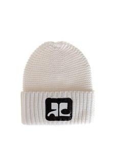 courrèges - Merino wool watch hat