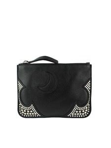 McQ Alexander Mcqueen - Leather clutch