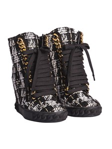 Casadei - Bouclé boots
