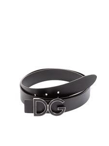 Dolce & Gabbana - Leather belt