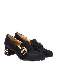 Car Shoe - Suede moccasins