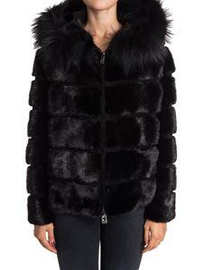 Simonetta Ravizza - Viola fur jacket