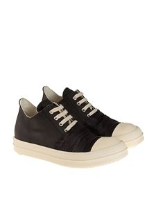 RICK OWENS DRKSHDW  - Fabric sneakers