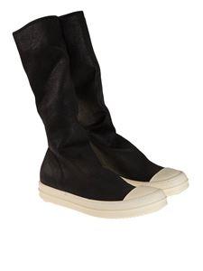 RICK OWENS DRKSHDW  - Denim boots