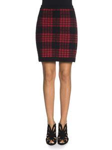 Balmain - Viscose and wool skirt
