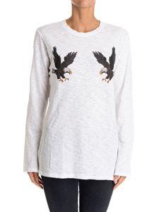 ZOE KARSSEN - Jersey cotton t-shirt