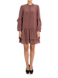 SEMICOUTURE - Silk dress