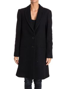 SEMICOUTURE - Wool and cashmere coat