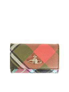 Vivienne Westwood  - Coated fabric keychain