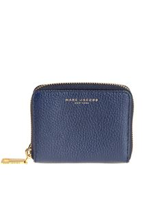 Marc Jacobs  - Hammered leather wallet