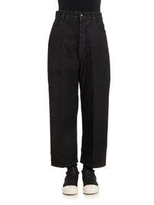 RICK OWENS DRKSHDW  - Cotton jeans