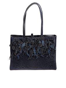 Almala - Leather and calf hair bag