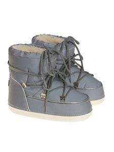 Chiara Ferragni - Reflective boots