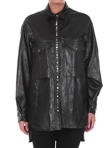 Golden Goose - Eco-leather shirt