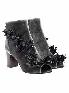 Pokemaoke - Open toe ankle boots