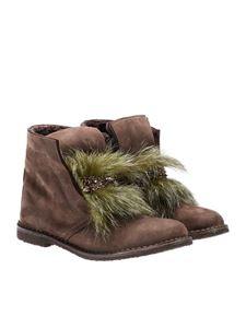 Pokemaoke - Nabuk ankle boots