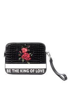 Dolce & Gabbana - Leather clutch bag
