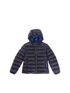 Fay Jr - Hooded down jacket