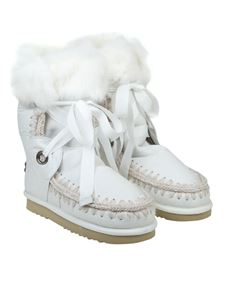 Mou - Shearling boots