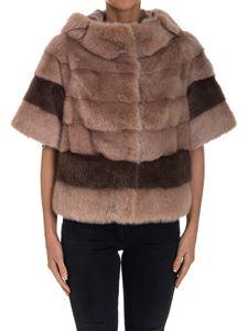 Violanti - Flared fur coat