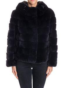Violanti - Hooded fur coat