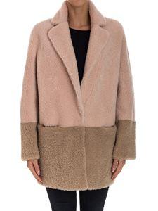 Violanti - Reversible shearling coat