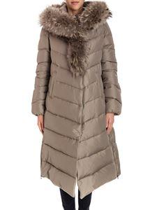 Violanti - Hooded down jacket