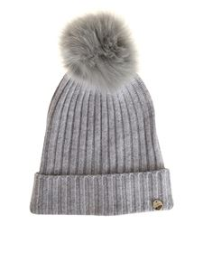 Yves Salomon - Wool and cashmere beanie