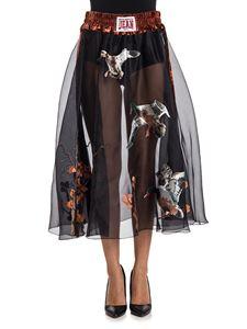 Stella Jean - Silk skirt