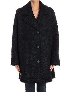 McQ Alexander Mcqueen - Bouclé wool coat
