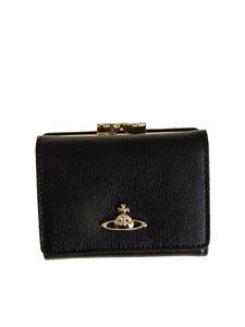 Vivienne Westwood  - Saffian effect leather wallet