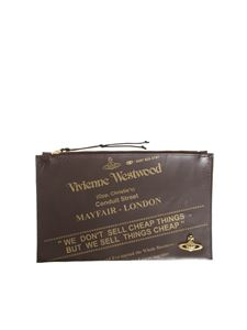 Vivienne Westwood ANGLOMANIA - Leather clutch