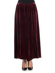 McQ Alexander Mcqueen - Velvet skirt