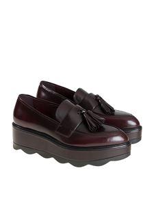 Prada - Leather moccasins