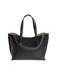LOEWE - Monogram leather bag