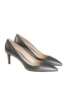 Prada - Saffiano leather effect pumps