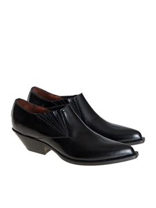 Sonora - Brushed leather shoes