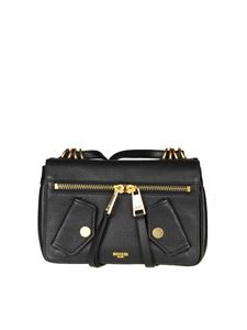 Moschino - Hammered leather bag